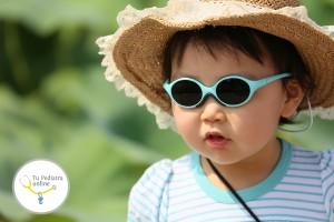 protección solar en niños y bebes, quemaduras solares en niños y bebés, la radiación solar en niños con lunares, protección solar en niños de piel clara